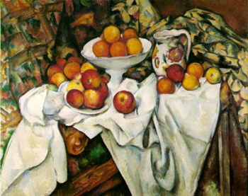 Paul Cézanne, Apples and Oranges, c. 1899