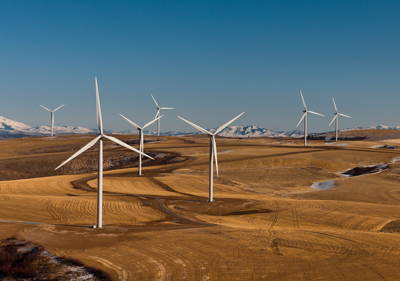 Wind farm, Power County, Idaho