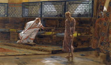 James Tissot, Jesus before Pilate, First Interview, 19th century.