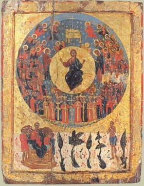 Icon of the Second Coming, c. 1700