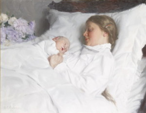 Emil Österman, Mother and Child, 1910