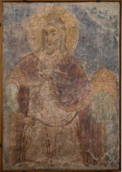 The Prophet Samuel, the Mikhailovsky Monastery of Kiev, c. 1112.