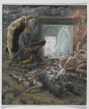 James Tissot, Mary Magdalene and the Holy Women at the Tomb, 1886–94