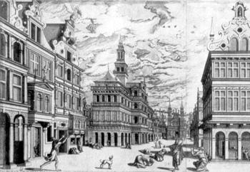 Hans Vredeman de Vries, Ninive nach der Prophezeiung Jonas, 1577–78
