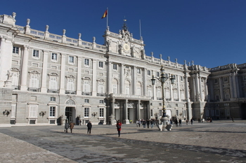 The seat of the Spanish monarchy,