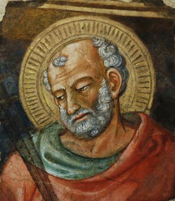 http://commons.wikimedia.org/wiki/File:St._Jude_Thaddaeus_Bicci_di_Lorenzo_OPA_Florence.jpg