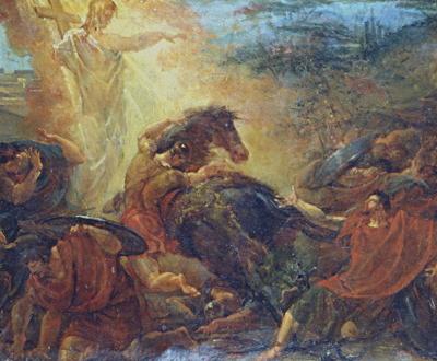 Jacques Réattu, The Conversion of St. Paul, 1827–29