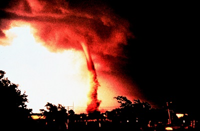 Tornado at Enid, Oklahoma, 5 June 1966