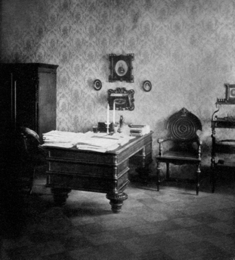 Dostoevsky's study in St. Petersburg