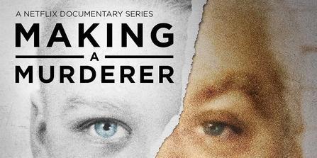 Logo for Making a Murderer, Netflix's wildly popular documentary series