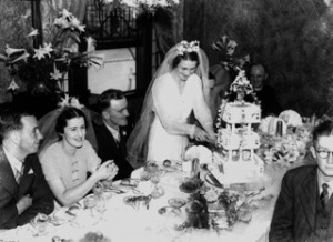 Wedding reception at the Bellevue Hotel, Brisbane, Australia, 1938