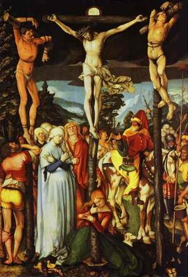 """Crucifixion,"" Hans Baldung Grien (Wikimedia Commons)."