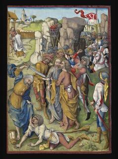 Israel von Meckenem, The Kiss of Judas, c. 1503–08