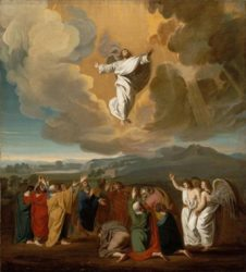 "John Singleton Copley, ""Ascension"", 1775, oil on canvas (Wikimedia Commons)."