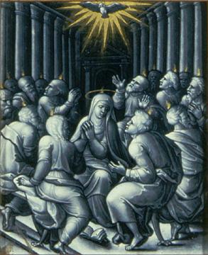 Pierre Reymond, Pentecost, c. 1550