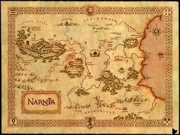 Map of Narnia (Wikimedia Commons, Samuelmat)