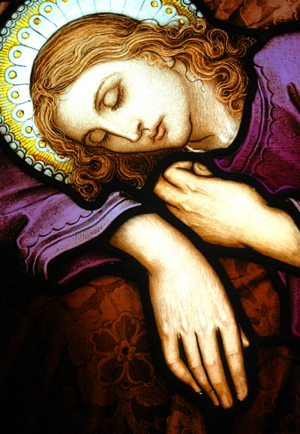 stainedglass_woman_asleep_sm