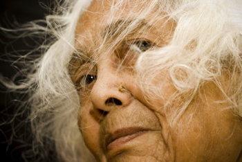 Indian Senior Lady