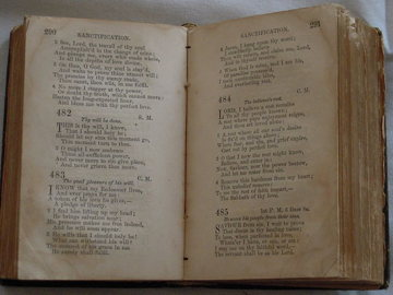 A Methodist Hymnal Without Tunes