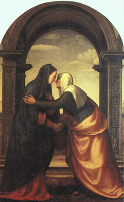 Mariotto Albertinelli, The Visitation (Wikimedia Commons)