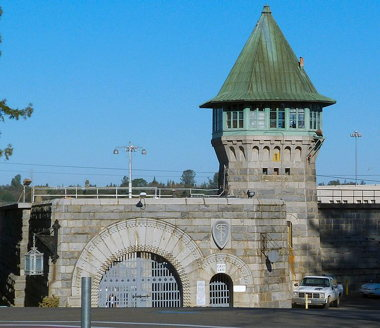 Main gate at Folsom Prison